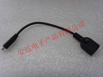 male micro 5pin to female USB OTG host data cable for Samsung GALAXY S2 S3 I9100 9300 MOTO XOOM tablet