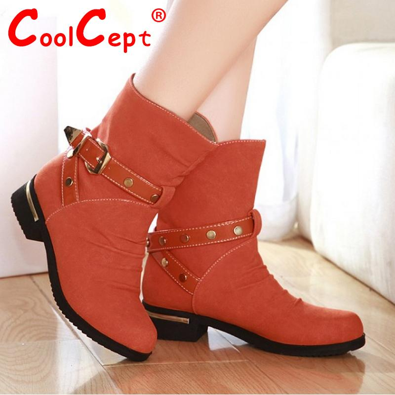 women falt ankle boots half short autumn winter botas fashion quality footwear round toe warm boot shoes P19332 size 33-41<br><br>Aliexpress