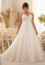 Sweetheart ball gown bridal dress