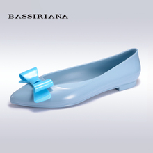 BASSIRIANA - high quality jelly womens shoes for spring and summer, Slip-on shoe for women, russian sizes 36-40, free shipping(China (Mainland))