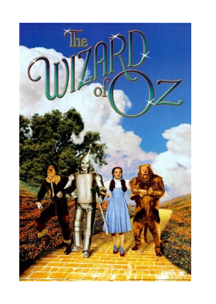 The wizard of oz retro poster custom wallpaper home decor hd wall sticker size 20x30inch free - The wizard of oz hd ...