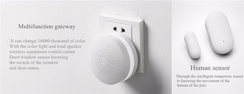 image for 2016 Original Xiaomi Smart Home Kit Automatic Security System Gate Way