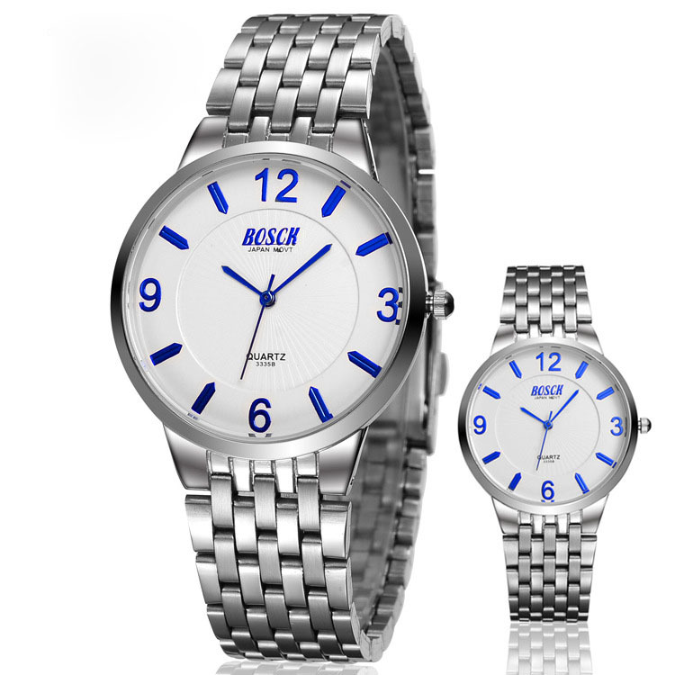 New arrival Slim Mens Watches Steel chain waterproof gift table mesa masculino relogios masculinos(China (Mainland))