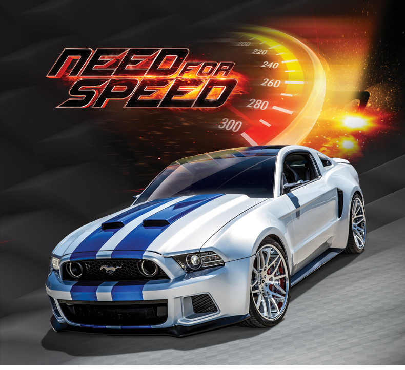 High simulation 1:24 Scale Diecast Metal Alloy Car Model Ford Mustang GT Need for speed collection model excellent gifts(China (Mainland))