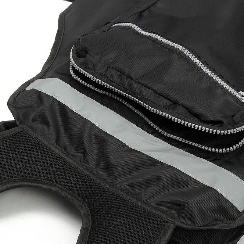 New Adult Fishing Safety Swimming Buoyancy Aid Sailing Life Jacket Floating Vest Adjustable Fish Clothing With Multi-Pocket