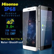 Waterproof Phone 4G lte IP67 Octa core thin Hisense C20 3GB RAM 32G ROM smartphone 5inch 13MP shockproof android mobile phone 6S(China (Mainland))