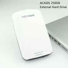 "Good price Free shipping 2.5""  ACASIS Original 250GB HDD USB2.0 External Hard Drive  Mobile Portable Disk Plug and Play On Sale"