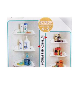 3 x NEW Bathroom Storage Shelf Bath Rack Home Organizer Shower Wall Holder SALE