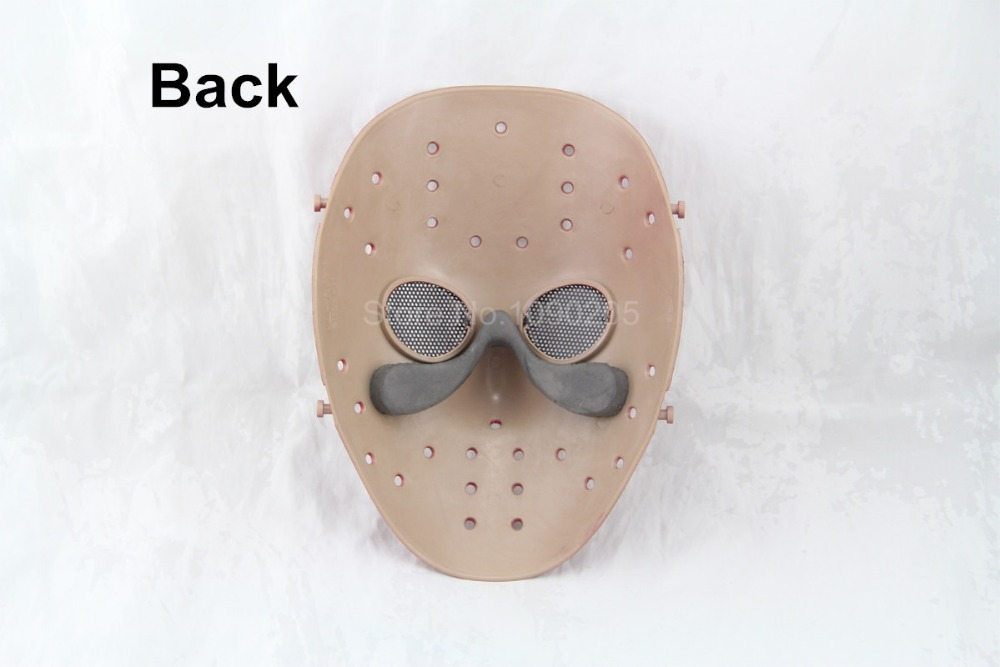 New Arrival Halloween Skull mask cs protection Paintball Airsoft Gun Masks Jason Voorhees Hockey Mask Wargame Mask Shooting(China (Mainland))
