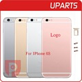 Hight Quality For iphone 6S 6GS housing Grey White Gold Rose Gold metal alloy back cover