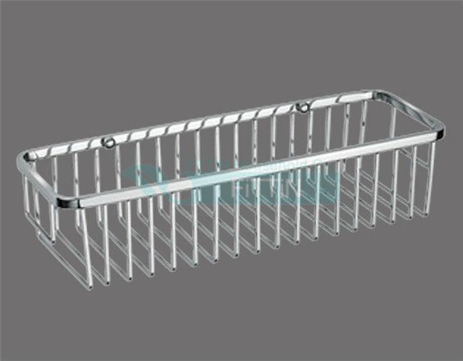 Badkamer Planken : Baskets Wire Bathroom Shelves