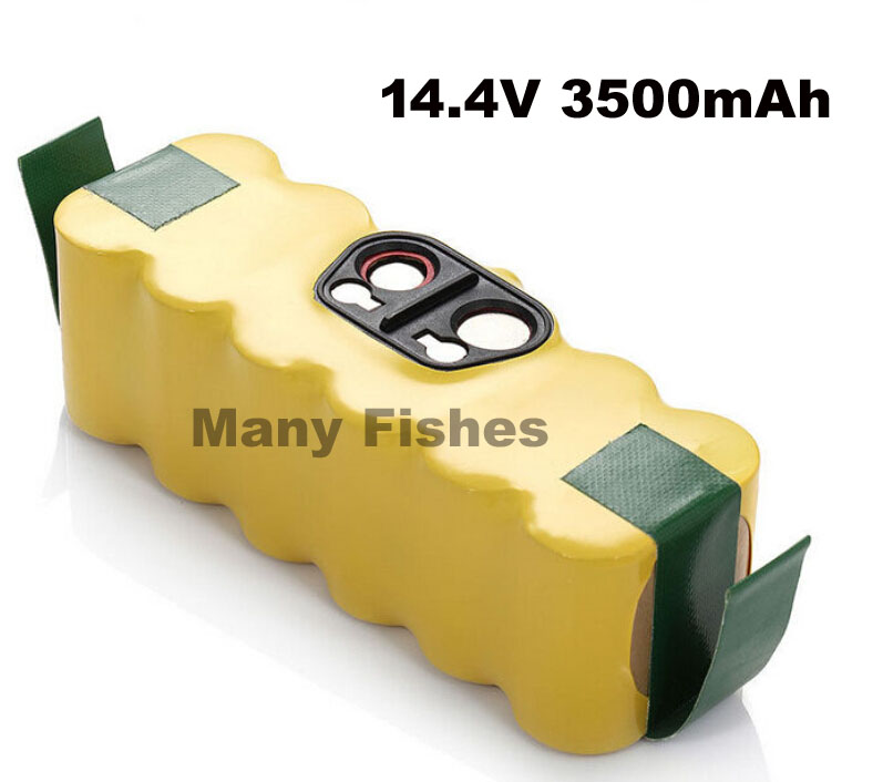 Brand New 14.4V 3500mAh Ni-MH rechargeable battery pack for irobot roomba Vacuum Cleaner for 500 550 560 780(China (Mainland))
