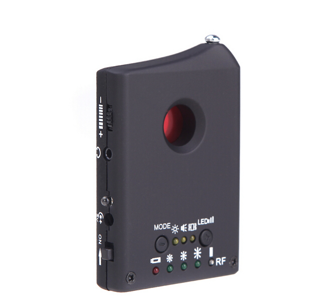 High Quality Wireless Anti Spy Detector LDRF-DT1 Hidden Camera GSM Audio Bug Finder GPS Signal Lens RF Tracker Free Shipping(China (Mainland))