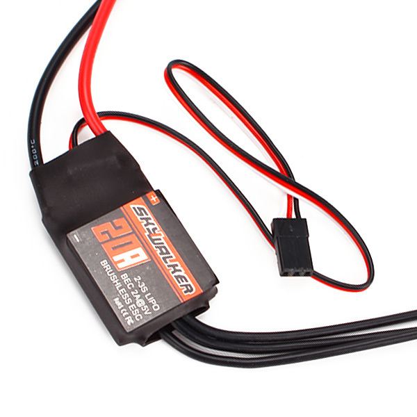 20A ESC Compatible With Brushless Motors For RC Cars And RC Helicoper(China (Mainland))