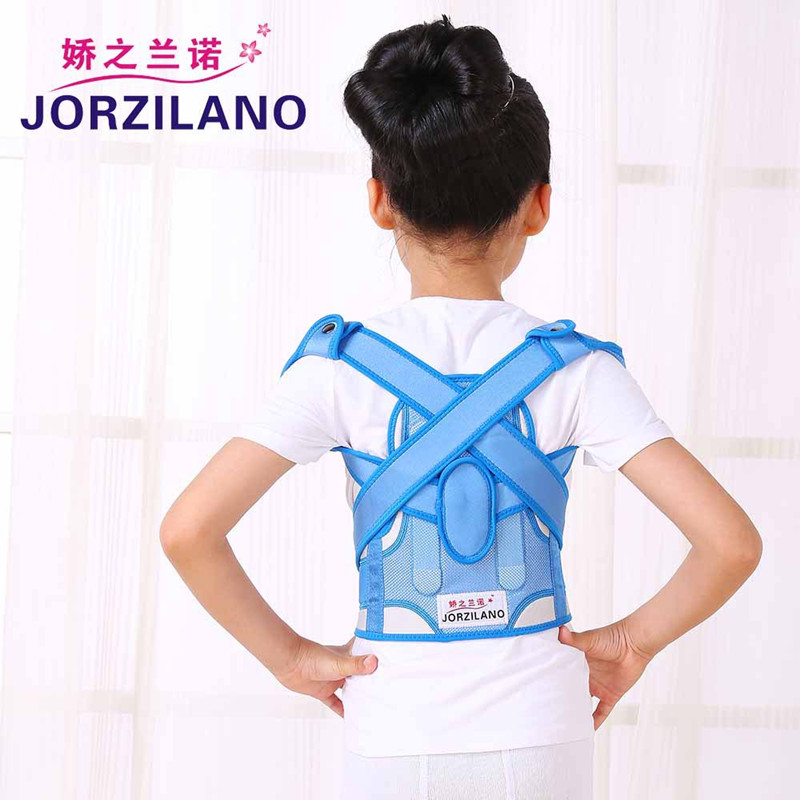 Child Opposite Direction Posture Back Straps Humpbacks Braces Belt Slouch Correction Orthosis Shoulder Support Posture Corrector(China (Mainland))
