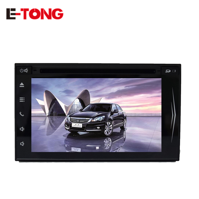 """Universal Car Audio Android 4.4 6.2"""" Inch Capacitive Touch Screen Car Stereo PC Player GPS Support Backup Revers Parking Camera(China (Mainland))"""