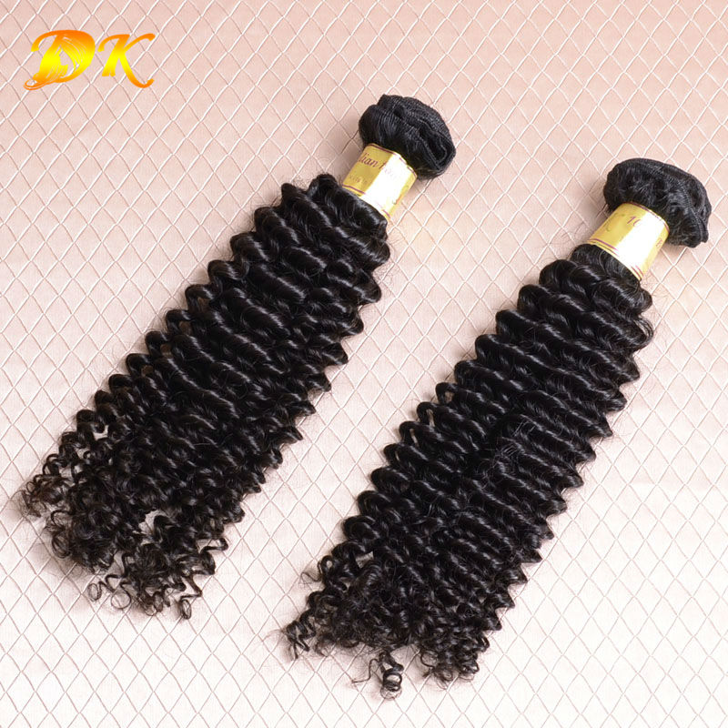 Unprocessed 6a Malaysian Virgin Hair Extension DK Hair Product remy Jerry curl Human hair Weave natural color free shipping<br><br>Aliexpress
