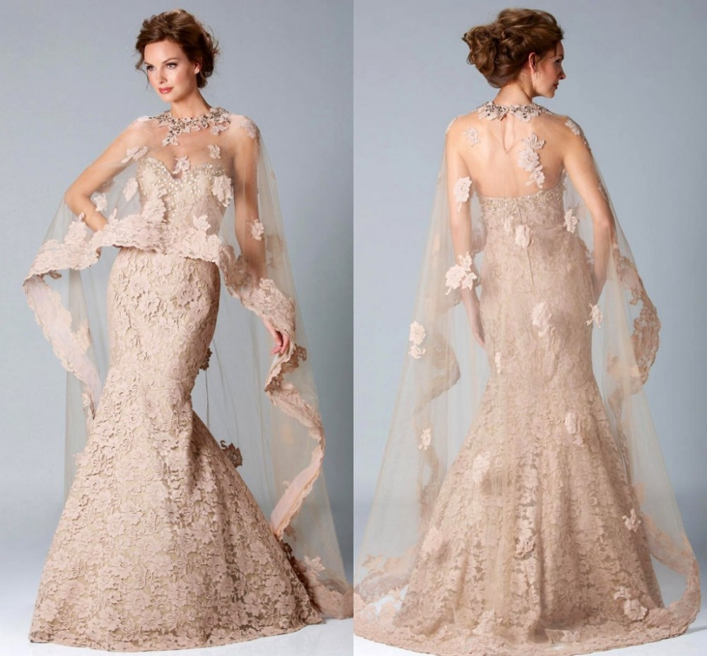 Elegant Mother Of The Bride Dresses: Elegant Mermaid Mother Of The Bride Dress Jacket Vestidos