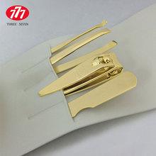 Korea Imported 777 Nail Clippers Manicure Scissors Nail Clippers Suit Genuine Small Scissors Eyebrow Folder File Curette Gold(China (Mainland))