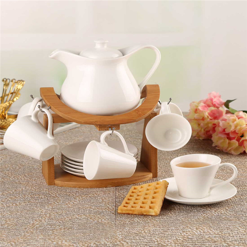 European creative ceramic coffee set with a simple and stylish high temperature coffee pots Tea Set