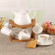 European creative ceramic coffee set with a simple and stylish high-temperature coffee pots Tea Set