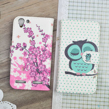 Buy Lenovo K5 A6020 case Cartoon Painting PU Leather Cover Lenovo A6020 Vibe K5 Plus, A6020A46 Flip Wallet Stand Phone Bag for $3.98 in AliExpress store