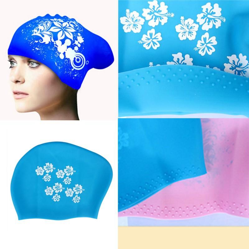 Extra Large Swimming Cap Silicone Swim Hat for Dreadlocks or Long Hair Braids Waterproof(China (Mainland))