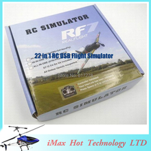 22 in 1 RC USB Flight Simulator Cable for Realflight G7/ G6 G5.5 G5 5.0 for FPV Training Free Shipping Newest Version(China (Mainland))