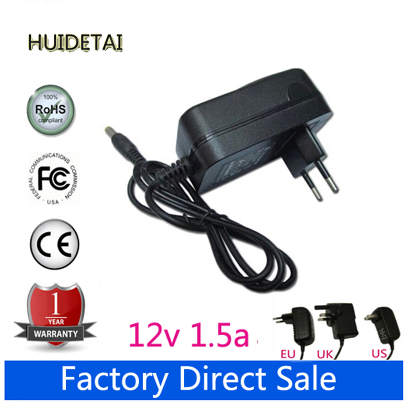 12V 1.5A AC DC Power Supply Adapter Wall Charger For Acer Iconia A100 A500 A501 Tab Tablet US / EU / Plug(China (Mainland))