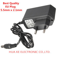 DC 6V 1A 1000mA Power Supply 6V1A Power Adapter EU Plug DC 5.5mm x 2.1mm(China (Mainland))