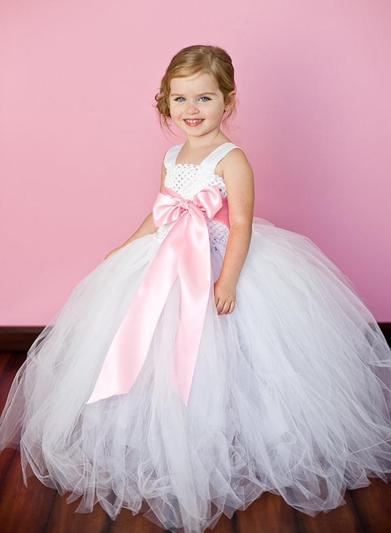 Pink Girl Tutu Dress For Birthday Photo Wedding Party Festival Children Kids Summer Tutu Dress Pricess Girl Tutu Dress 2-8T(China (Mainland))