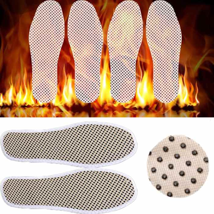 Foot Care Winter Tourmaline Self Heated Insole Massage Magnetic Feet Care Far Infrared Rays Insoles for Shoes 1Pair(China (Mainland))