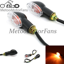 4PCS Universal LED Motorcycle Turn Signals Indicator