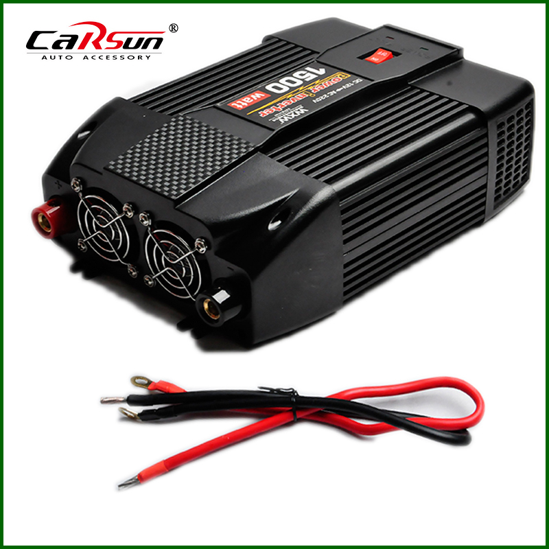 1500W Modified Sine Wave Car Boat DC 12V to AC 220V 5V USB Power Inverter Auto Adapter Charger(China (Mainland))