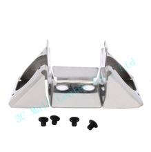 UM2 DIY 3d printer parts Ultimaker 2 stainless steel dual fan bracket Ultimaker 2 match 2510 fan duct fan mount, UM2 hotend fan