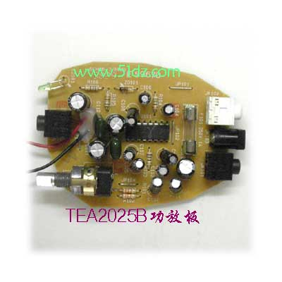 TEA2025B power amplifier board parts production of electronic DIY entry process practice training curriculum design special ffer(China (Mainland))