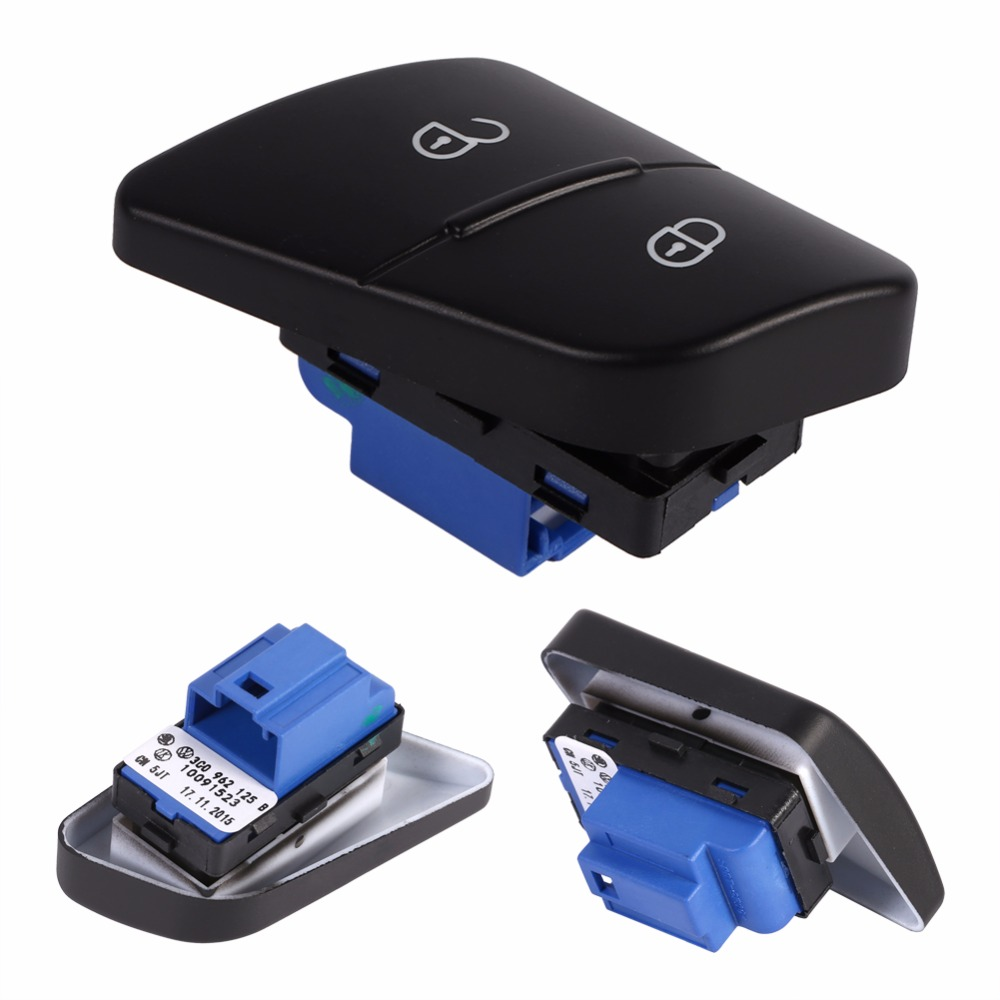 LH Driver Side Car Door Lock Switch Central Locking Button VW Passat 2006-2011 B6 3C LH Driver Side Car Door Lock Switch