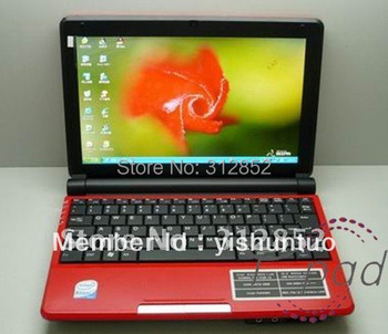 10inch Notebook pc Dual Core 1.6GHz  N2600  2G Ram 160GB Notebook pc