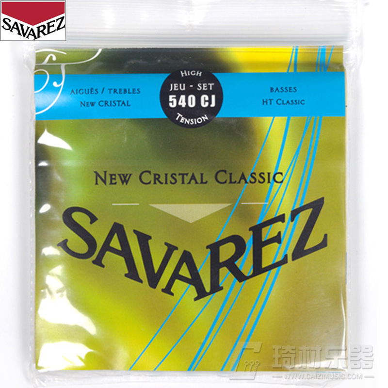 Savarez New Cristal/HT Classic HT Guitar Strings Full Set 540CJ(China (Mainland))