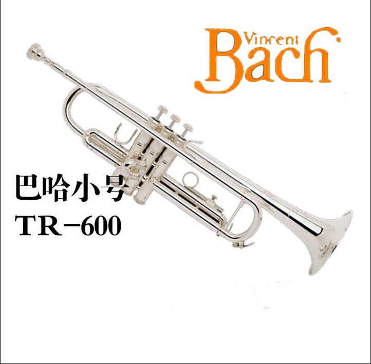 [해외]?새로운 바흐 트럼펫 TR-600 드롭 중에 bB 조정 트럼펫 악기..