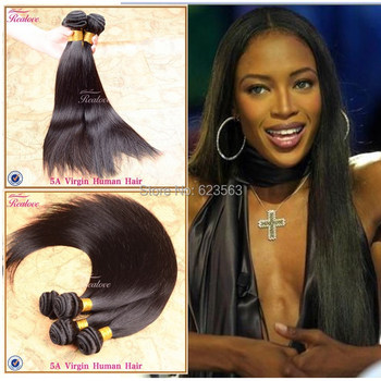 "3PC Malaysian virgin hair straight 8""-28"" free shipping 6a rosa hair products malaysian straight natural black hair Human Hair"