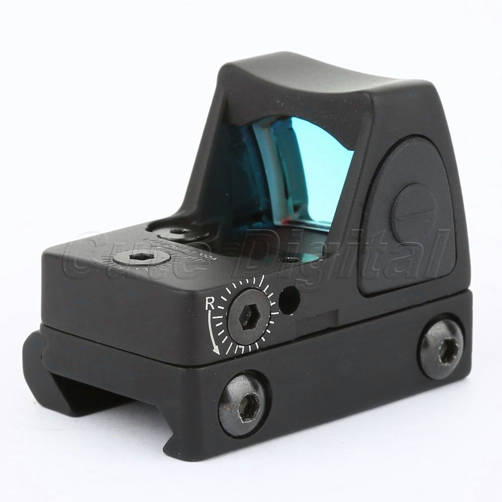 Tactical Hunting RM06 Mini Red Dot 3 25 MOA Sight Scope Adjustable with 20mm Picatinny Rail