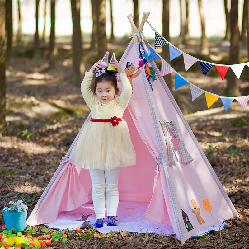 Домик для игр. Выбираем детскую палатку