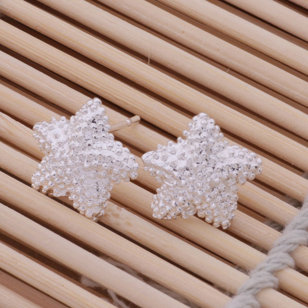 New Brand Fashion Jewelry star Real Women Romantic Plated 2016 New Supplies stud Earrings Fashion High Quality WE-142
