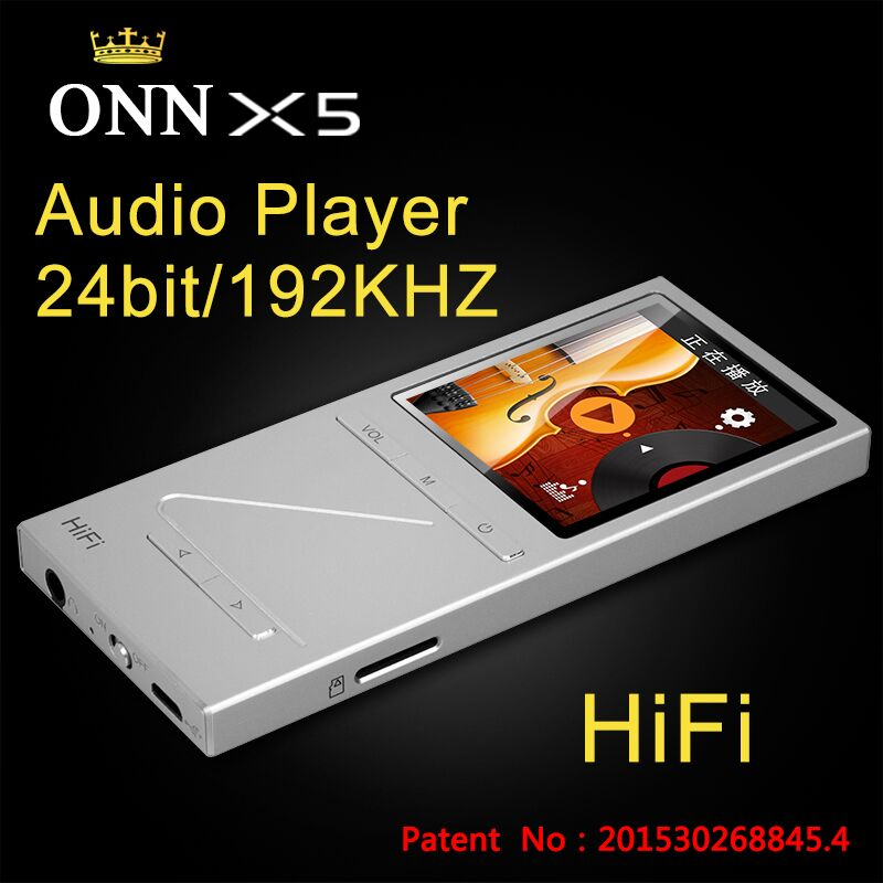 2015 new X5 8GB Professional lossless music mp3 hifi music player with TFT screen support APE/FLAC/ALAC/WAV/WMA/OGG/MP3 format(China (Mainland))