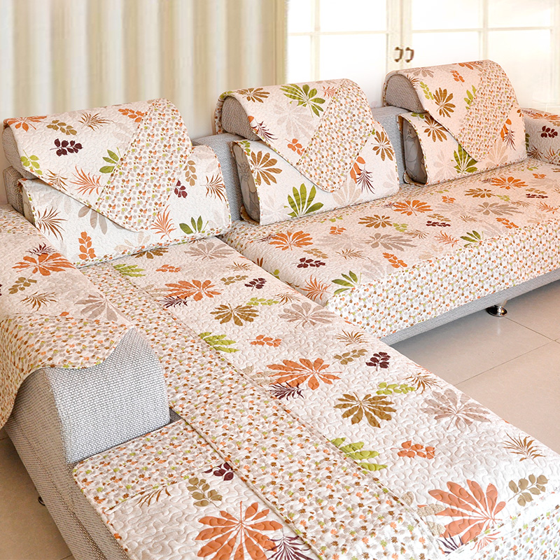 Anti Slip Sofa Cushion Cotton Fabric Fashion Quality Sofa