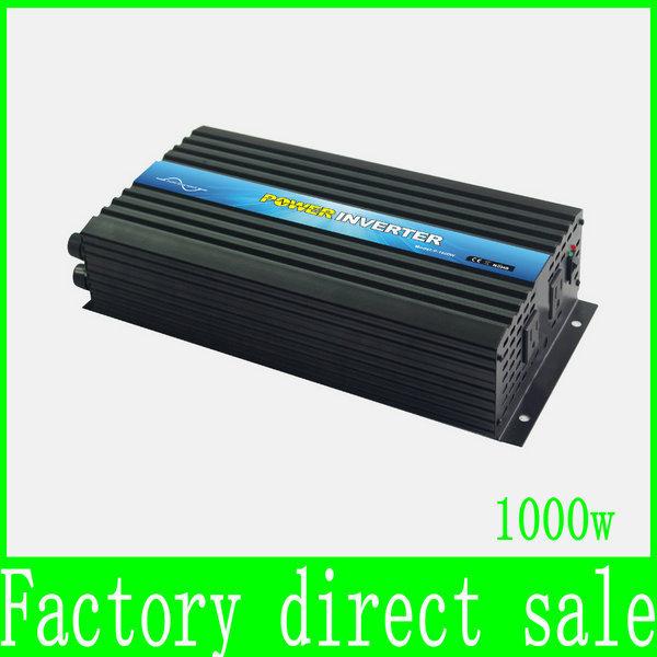 HOT SALE!! 1000W off Grid Inverter Pure Sine Wave Inverter DC12V or 24V or 48V input, Wind Turbine Inverter(China (Mainland))