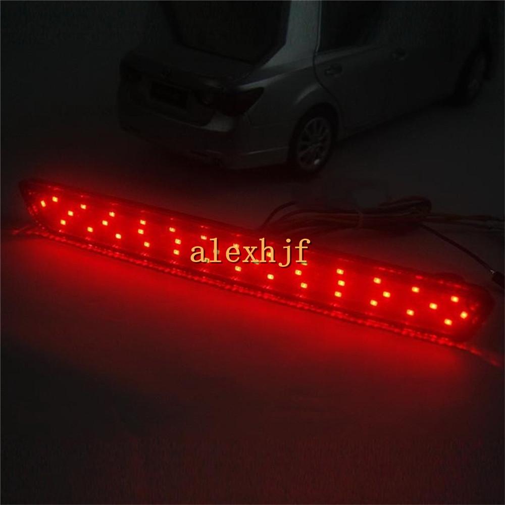 LED Red Rear Bumper Brake Lights Case for Mazda 2 3 6 8 ATENZA AXELA, LED Brake lights + Turn Signal Lights+ Night DRL, 3 in1<br><br>Aliexpress