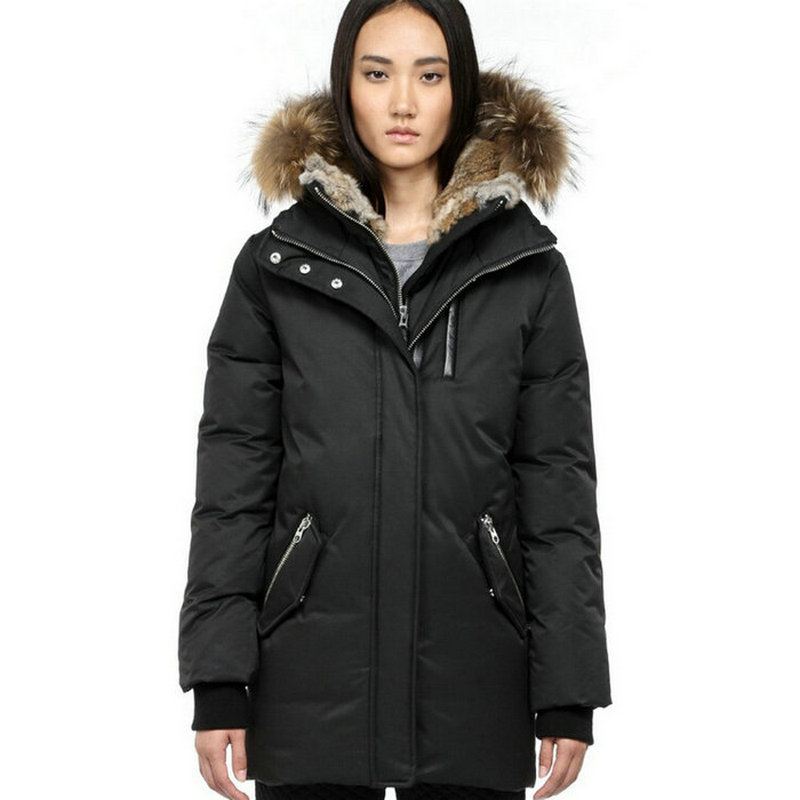 s winter jackets and coats real fur black winter