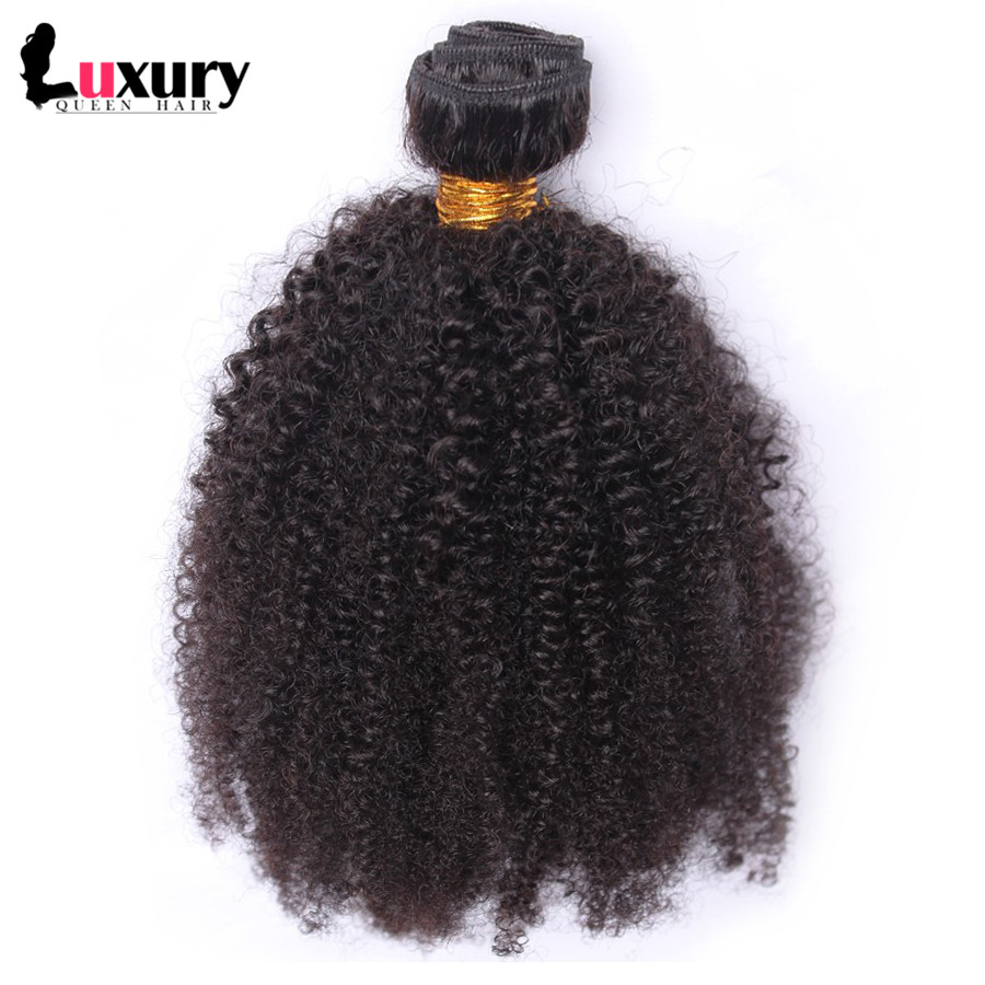 1pcs Mongolian Virgin Hair Kinky Curly Mongolian Curly Hair Weaves Natural Black Hair Mongolian Curly Virgin Hair Extensions